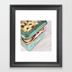 The cookie jar Framed Art Print
