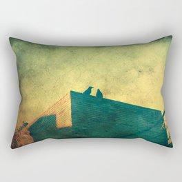 Look up for those black guardians Rectangular Pillow