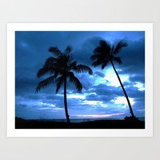 Palms of Hawaii Art Print