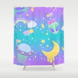 ミ☆ S w e e t  S p a r k l e  S p a c e Shower Curtain