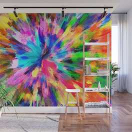color explosion gogh pattern gostd Wall Mural