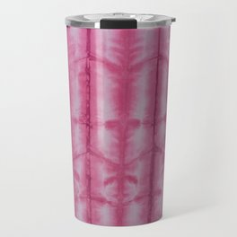 SKU545 - Shibori Style - Fuschia 9 Travel Mug