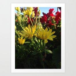 Flowers Pt.1 Art Print
