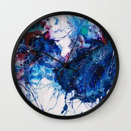 Vibrant Splash Wall Clock