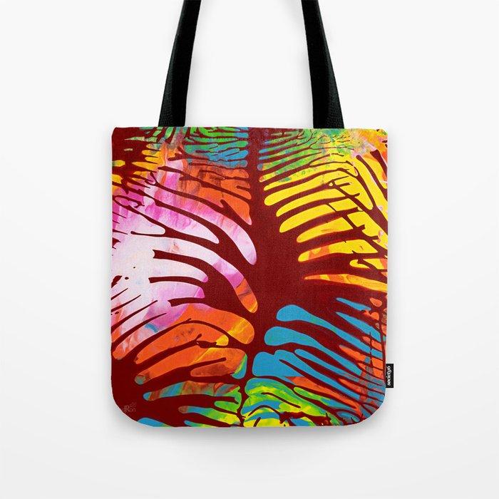 Tropic Leaves Tote Bag