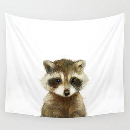 Little Raccoon Wall Tapestry