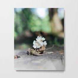 flower crown toad Metal Print