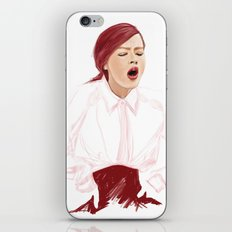 back the shi*t off iPhone & iPod Skin