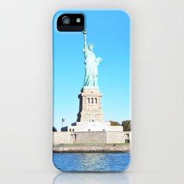 289. Summer Liberty, New York iPhone Case