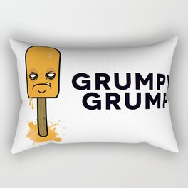 Grumpy Creamsicle Rectangular Pillow