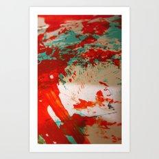 struck Art Print