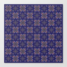 Royal [abstract pattern A] Canvas Print