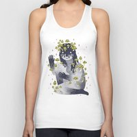 celestial Tank Tops featuring Celestial Decay by LordofMasks