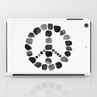 peace iPad Cases featuring Peace by Elisabeth Fredriksson