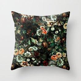 Night Garden VI Throw Pillow