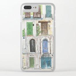 Door to Door Clear iPhone Case