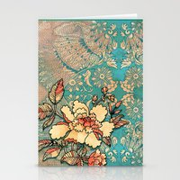 hibiscus Stationery Cards featuring Hibiscus by Kriti