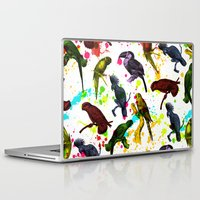 tropical Laptop & iPad Skins featuring TROPICAL by DIVIDUS