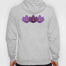 Crocus Flower Hoody