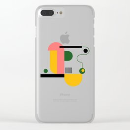 Nature II Clear iPhone Case