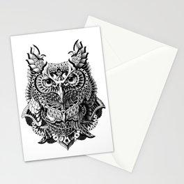 Century Owl Stationery Cards