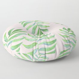 Shake Your Palm Palms - Palm Leaf Quote Floor Pillow