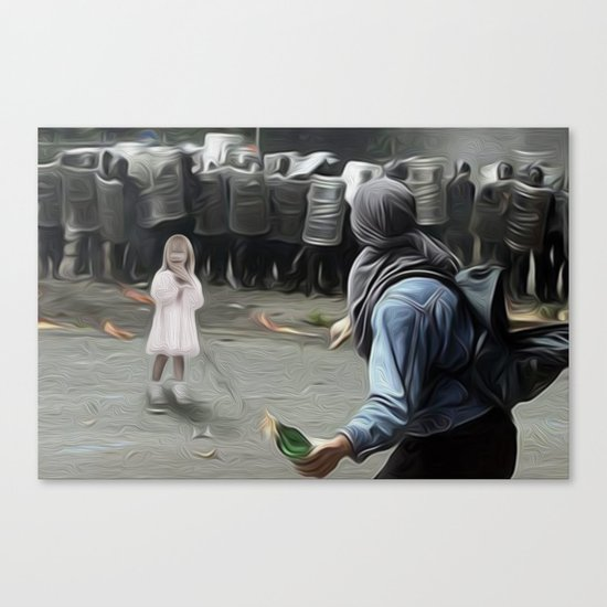 innocents takes no sides Canvas Print