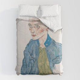 Egon Schiele - One-Year Volunteer Lance-Corporal Comforters