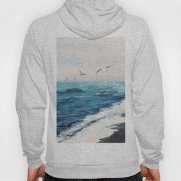 Watercolor Coast Hoody