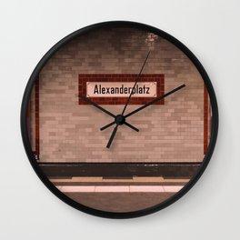 BERLIN SPIRIT - 3 Wall Clock