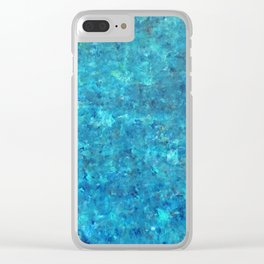 Liquid Cashmere Clear iPhone Case