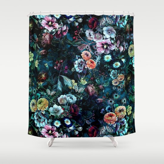 Marvellous Teal And Black Shower Curtain Pictures - Best Image ...