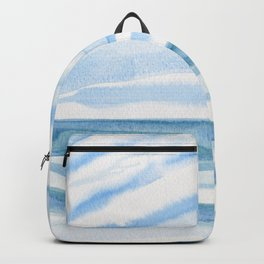 Blue Stretch Backpack