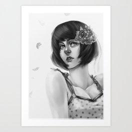 Summer Elegance Art Print