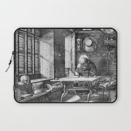 Saint Jerome in His Study by Albrecht Dürer Laptop Sleeve