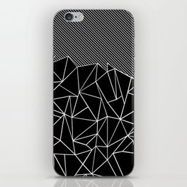 Ab Lines 45 Black iPhone Skin