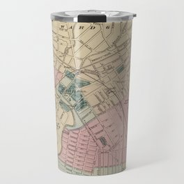 Vintage Map of Elizabeth New Jersey (1872) Travel Mug
