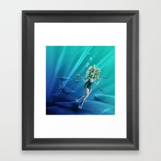 Deep Sea Feelings (Evolve) Framed Art Print