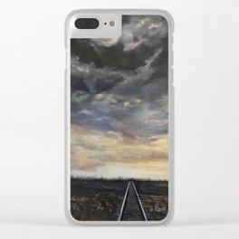 Looking for Vincent Clear iPhone Case