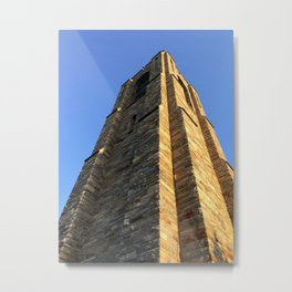 The Stone Bell Tower of Baker Park Metal Print