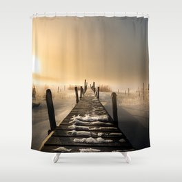 I rest here... Shower Curtain