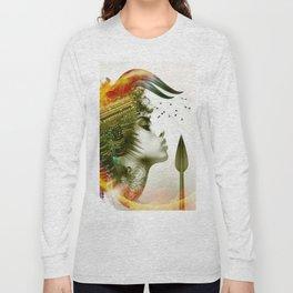 Afro Warrior Long Sleeve T-shirt