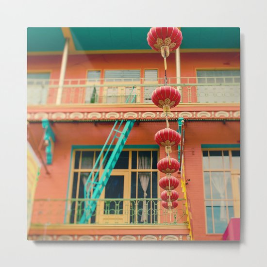 Chinatown II (San Francisco)  Metal Print