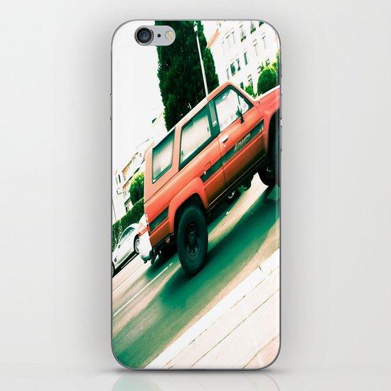 Vroom iPhone & iPod Skin
