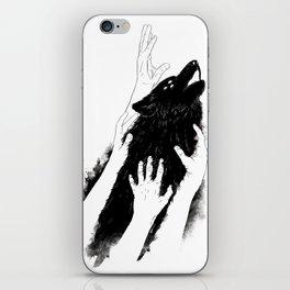 Wolves of Paris iPhone Skin