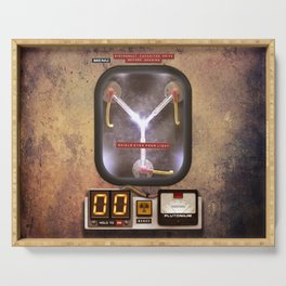FLUX CAPACITOR Serving Tray