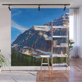 Mt. Edith Cavell in Jasper National Park, Canada Wall Mural
