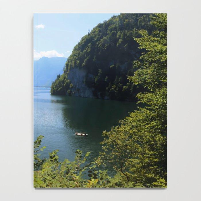 Germany, Malerblick, Koenigssee Lake II Notebook