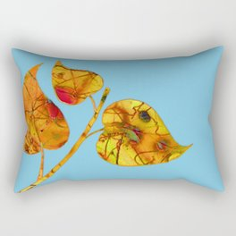 blue automn Rectangular Pillow