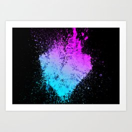 Heartred Art Print